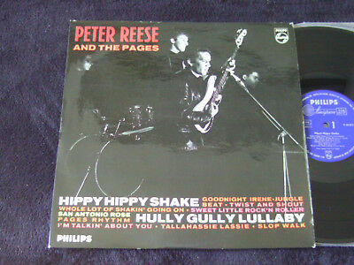 """Peter Reese And The Pages """"Hippy Hippy Shake"""" Near Mint 1964 German Beat"""