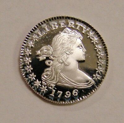 Gallery Mint Fantasy Token - 1796  Proof Draped Bust Silver Half Dime