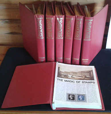 International Encyclopedia Of Stamps - Partwork Mags - Complete Pdf Set On Dvd