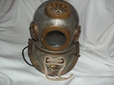 Vintage Diving Helmet  Korean I Think Maybe Chinese No Dents  Vf Shape Look