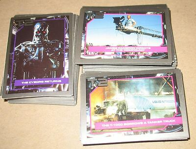 T2 - Terminator 2 - 140 card set 1991 Impel Marketing - Collector cards