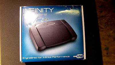~NEW~ Infinity USB IN-USB-2 Foot Pedal for Computer Transcription (IN-USB2)