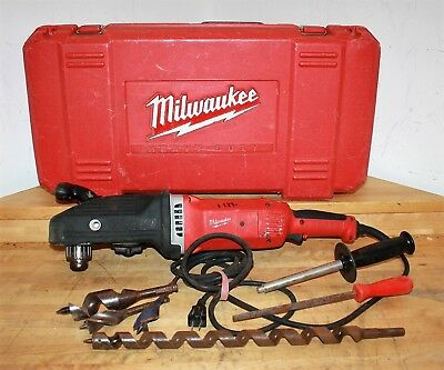 "Milwaukee 1680-20 Super Hawg 1/2"" Corded Right Angle Drill"