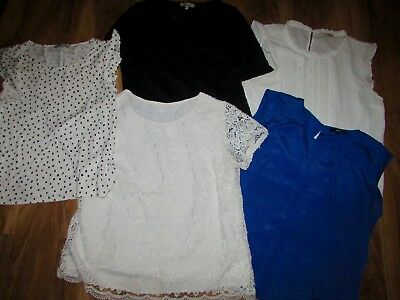 Job lot ladies clothes size UK 16 Hobbs Oasis Monsoon Tops Blouse T-shirt