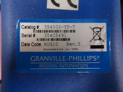 354002-YD-T Granville-Phillips 354 Micro-Ion® Module Used