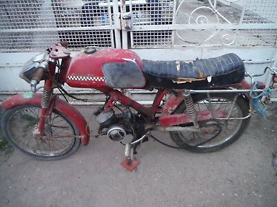 1968 Peugeot BB cyclosport moped barn find project