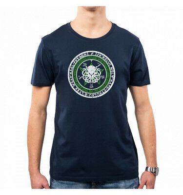 T-Shirt Uomo Seal Of The Old One Lovecraft Lc0010A Pacdesign