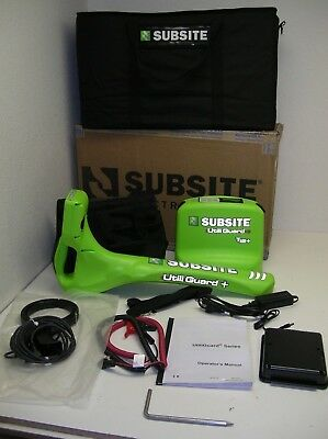Utiliguard 12 watt Advanced Ditch Witch Subsite cable pipe wire utility locator
