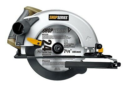 """SS3401  Rockwell 7 1/4"""" 12 Amp Lightweight Spindle Lock Corded Circular Saw"""