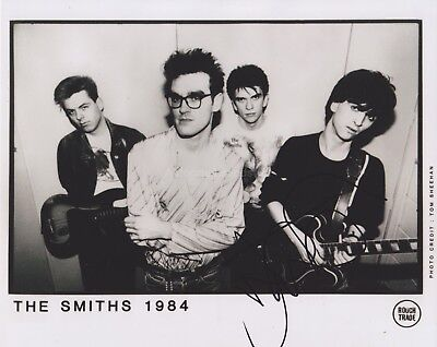 Johnny Marr HAND SIGNED 8x10 Photo, Autograph, The Smiths, Call the Comet