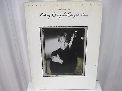 The Mary Chapin Carpenter Collection Sheet Music Piano Vocal Guitar 000306626