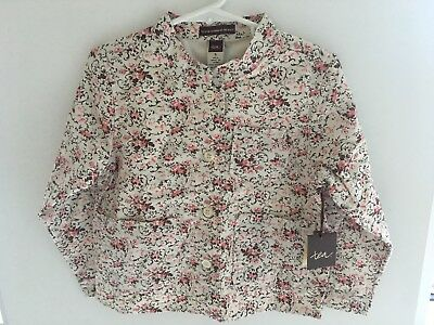 NWT Tea Collection Girls Spring/Summer Jacket Top Size 5 5T