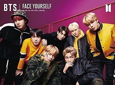 BTS BANGTAN BOYS FACE YOURSELF (TYPE-B) CD DVD Book F/S w/Tracking# Japan New