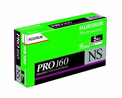 5 x Fujifilm Fuji PRO160 NS Color Negative 120 Film F/S w/Tracking# Japan New