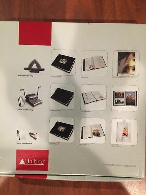 38 Steelmat Black Frosted Cover (10-25pgs)For Unibind Redin Steelbinding Machine