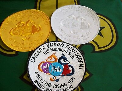 23rd World Scout Jamboree  Canadian Scout badges Canada Yukon Contingent