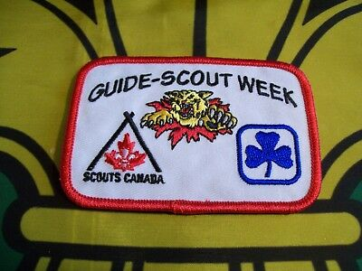 Moncton Wildcats Guide-Scout Week  Canadian Scout badge