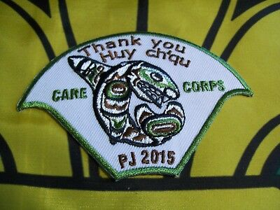 PJ 2015 Thank You Care Corps Canadian Scout badge