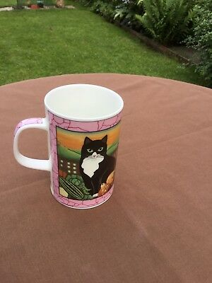 gallery cats by sharon jevis dunoon mug fine bone china