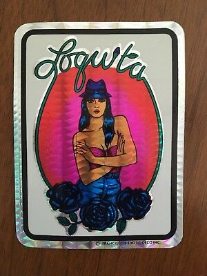 Lowrider prism sticker decal 1970s NOS 1980s chicana
