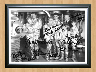 Lost In Space TV Series Cast Signed Autographed A4 Photo Poster Memorabilia dvd