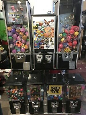 Northwestern MACHINE TOY CAPSULE GUMBALL CANDY VENDING RACK STAND