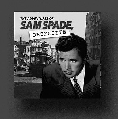 ADVENTURES OF SAM SPADE Old Time Radio Shows - 87 MP3s on DVD + FREE OFFER OTR