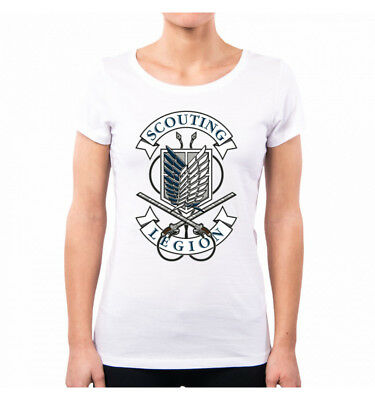 T-Shirt Donna Scouting Legion Attack On Titan Op0047A Pacdesign