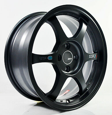 4pcs SSR TYPE C 16 inch Mag Wheels Rim 4X100 Alloy wheel Car Rims H601-FB- 1