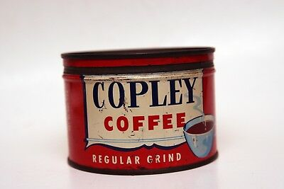 Vintage Copley Coffee Tin with Lid