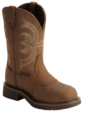 NEW Justin Gypsy Women's Waterproof Steel Toe Work Boots AGED BARK - Multi sizes