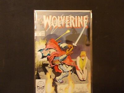 Wolverine #3 (Jan 1989, Marvel) Signed