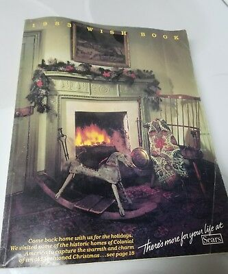 Buy It Now! Vtg. Sears 1983 Wish Book Catalog Christmas Toys  611 Pages