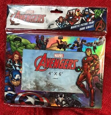 Marvel Avengers Infinity War Photo Frame- Table Top Or Magnetic- Holds 4x6 Photo