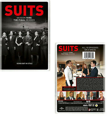 SUITS 8 (2018-2019) Manhattan Law Legal Drama TV Season Series - NEW US Rg1 DVD