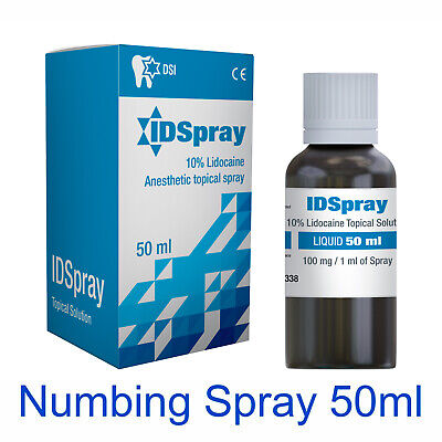 Numbing Topical Anesthetic Agent Spray For Tattoo Make-up Use 5% - 1.7oz 50ml