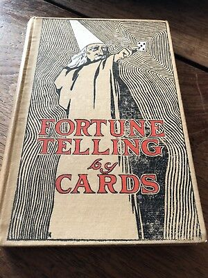 Rare Antique Book ...fortune Telling By Cards ...by Professor p s Foli 1906