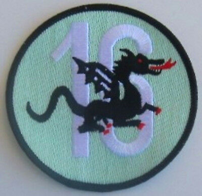 Patch Original SWISS AIR FORCE FLIEGER- STAFFEL 16