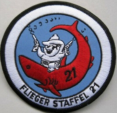 Patch Original SWISS AIR FORCE FLIEGER- STAFFEL 21