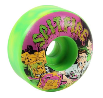 Spitfire F4 Classic Toxic Apocalypse 56mm 99a Skateboard Wheels
