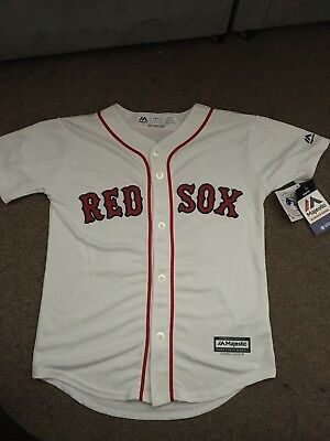 Boston Red Sox Authentic Majestic Youth Baseball Jersey