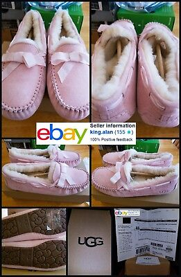 bed6cf585d1 New Ugg Womens Dakota Stripe Moccasin Size Us 8 100% Authentic Receipt Sold  Out