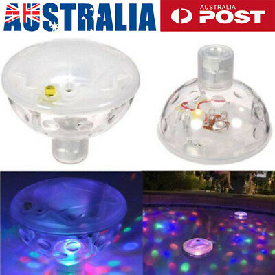Floating Underwater LED Light Automatic Color Changing Light Solar Pond Light AU