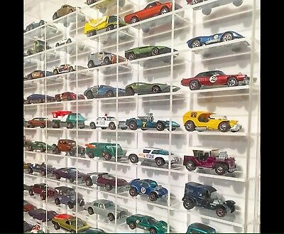 3x 72 Car Case Deal! Wall Mount Display Case For HotWheels, Matchbox, Tomica Etc