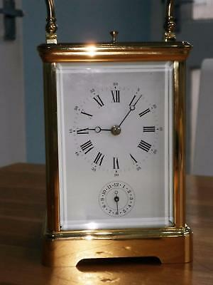 Le,epee Repeater Alarm Carrige Clock Good Working Order