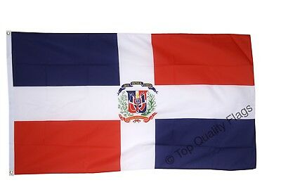 NEW DOMINICAN REPUBLIC 2x3ft FLAG superior quality fade resist us seller