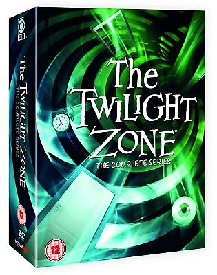 THE TWILIGHT ZONE (1959-1965) - The COMPLETE ORIGINAL 60's Series  R2 DVD not US