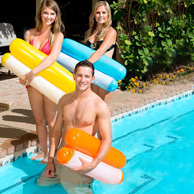 Pool Water Hammock Swim Sportz Float N About Lounger Inflatable Bed Chair Gut