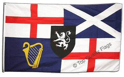 Command 1652 Flag 5Ft X 3Ft Oliver Cromwell British Navy Banner With Eyelets New