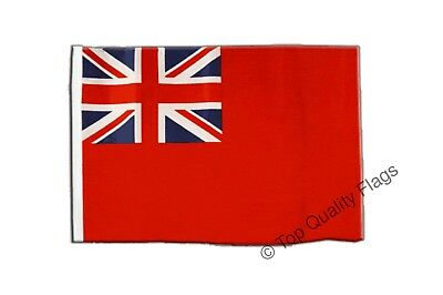 Great Britain Red Ensign Flag EMBROIDERED PATCH 8x6cm Badge